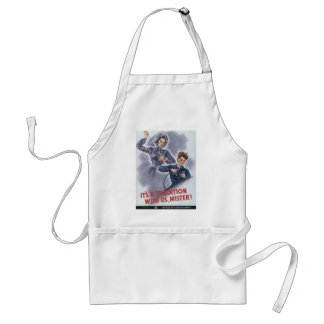 """""""It's a Tradition With Us Mister"""" Apron"""