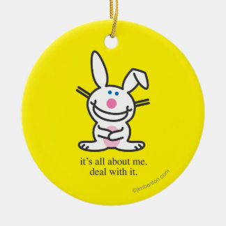 It's All About Me Christmas Ornament