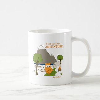 It's All About the Adventure Coffee Mug
