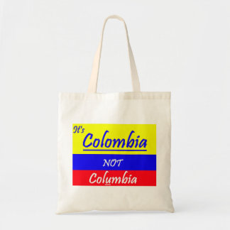 It's Colombia tote bag