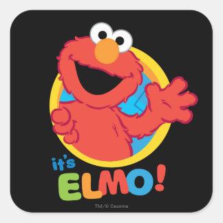 It's Elmo Square Sticker