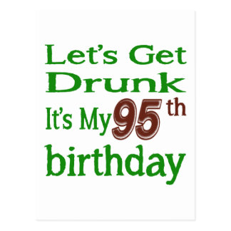 It's My 95th Birthday Postcard