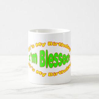 It's My Birthday I'm Blessed Mug