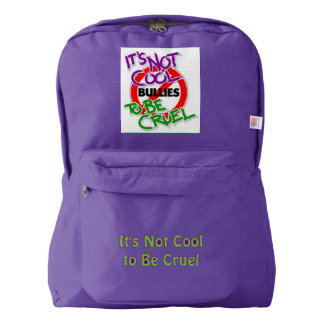 It's Not Cool American Apparel™ Amethyst Backpack