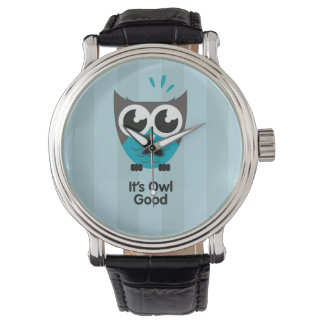 It's owl good watch blue