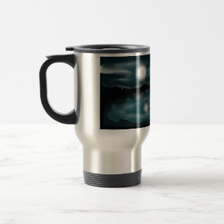 It's the Midnight Moon  By Rena Stainless Steel Travel Mug