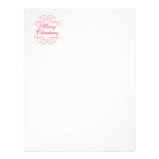 It's the most wonderful time ... Christmas Letter Customised Letterhead