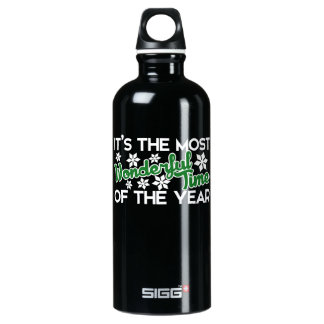 It's the most wonderful time of the year water bottle