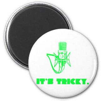 It's Tricky 6 Cm Round Magnet