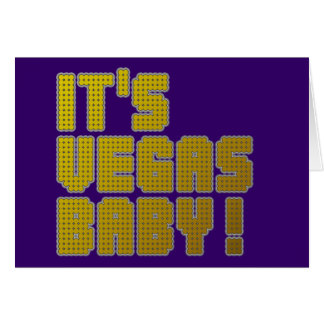 It's Vegas Baby! Card