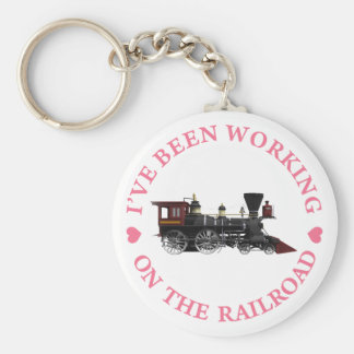 I've Been Working On The Railroad Key Ring
