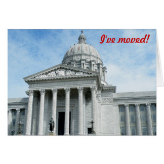 I've moved - to Missouri Card