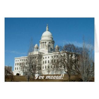 I've moved - to Providence Cards