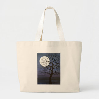 I've Touched the Moon Large Tote Bag