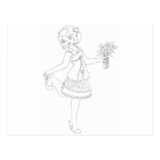 Ivory Bride Post Cards