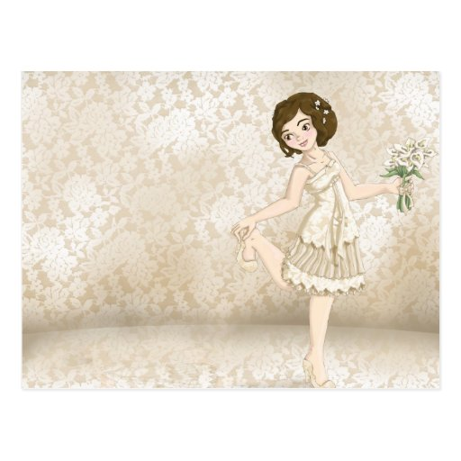 Ivory Bride Post Card