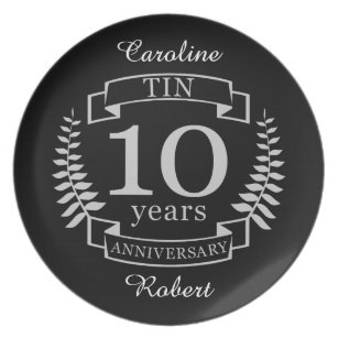 10 Year Wedding Anniversary Gifts Zazzle Co Nz