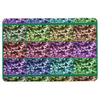 Ivy Leaf Artistic Photo Progression Floor Mat