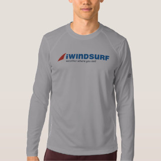 "iW Men's Gray ""Running"" Shirt LS"