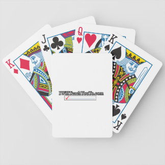 iWillTeachYouTo.com Bicycle Playing Cards