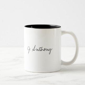 J. Anthony Two-Tone Coffee Mug