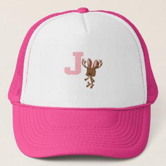 J is for Jackalope Trucker Hat