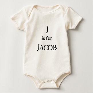 J is for Jacob Baby Bodysuit