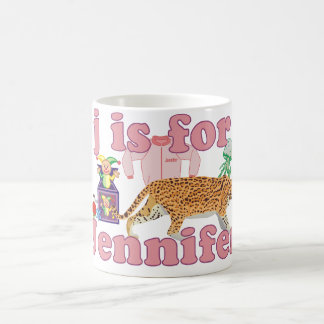 J is for Jennifer Coffee Mug