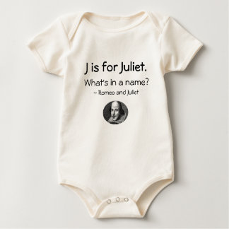 J is for Juliet • A Little Shakespeare Shirt