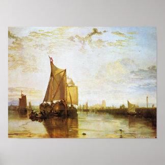 J. M. W. Turner - The Dort 1818 Poster