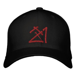 J-Money Certified Hat 21 Embroidered Baseball Caps