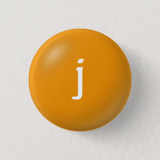J Monogram Button