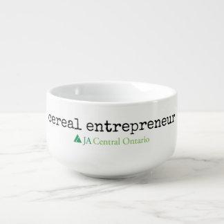 JA cereal entrepreneur bowl Soup Mug
