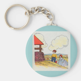 Jack and Jill went up the hill Key Ring