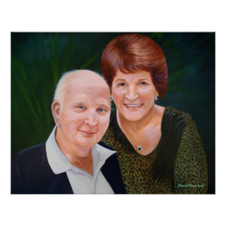 Jack and Marie Faull Sherry Weisel 2-08 Print