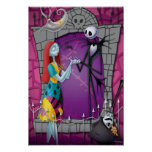 Jack and Sally Holding Hands Print