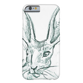 Jack Bunny Sketch Barely There iPhone 6 Case