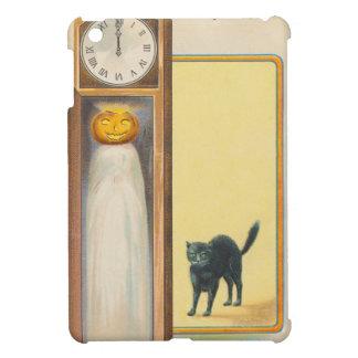 Jack O Lantern Ghost Black Cat Grandfather Clock iPad Mini Covers