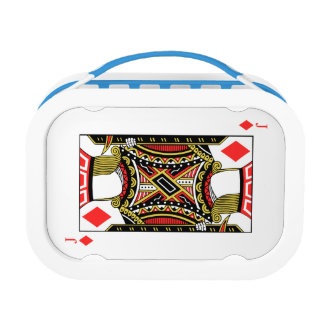 Jack of Diamonds - Add Your Image Lunch Box