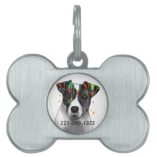 Jack Russell Pet ID Tag
