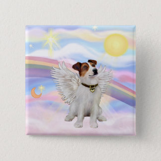 Jack Russell Terrier 15 Cm Square Badge