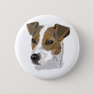 Jack Russell Terrier 6 Cm Round Badge