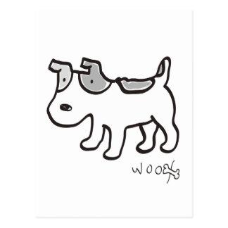 Jack Russell Terrier Chiro Postcard