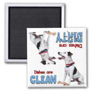 Jack Russell Terrier Lover Dishwasher Magnet