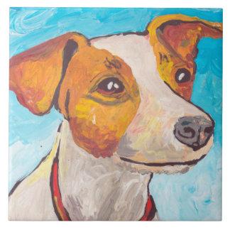 Jack Russell Terrier Tile