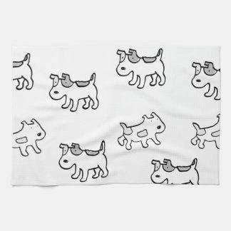 Jack Russell Terriers Tea Towel
