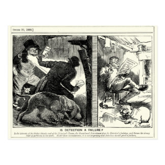 Jack the Ripper - Is Detection A Failure, 1888 Postcard