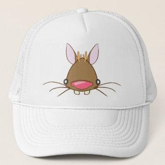 Jackalope brown trucker hat