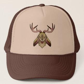 Jackalope Logo Trucker Hat