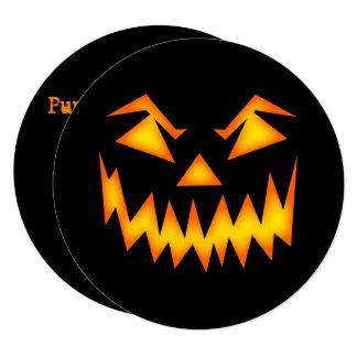 Jack's Back Pumpkin Carving Circle Invitation